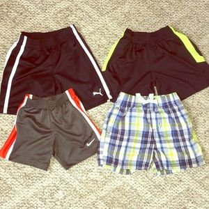 4 pairs of 2T shorts